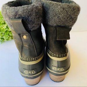Sorel Shoes - Sorel Slimpack lI Lace Duck Boot Kettle Black
